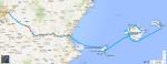 Capítulo 4, Baleares, 1400km y 32h