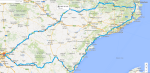 Capítulo 9, tramuntana, 1700km, 18h