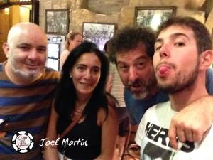 Los cuatro de cena en Haro, La Rioja