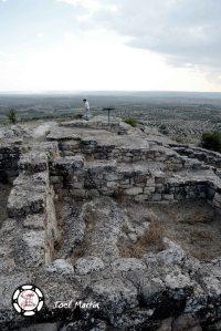 Plano general de parte del poblado Íbero de San Antonio, en Calaceite.