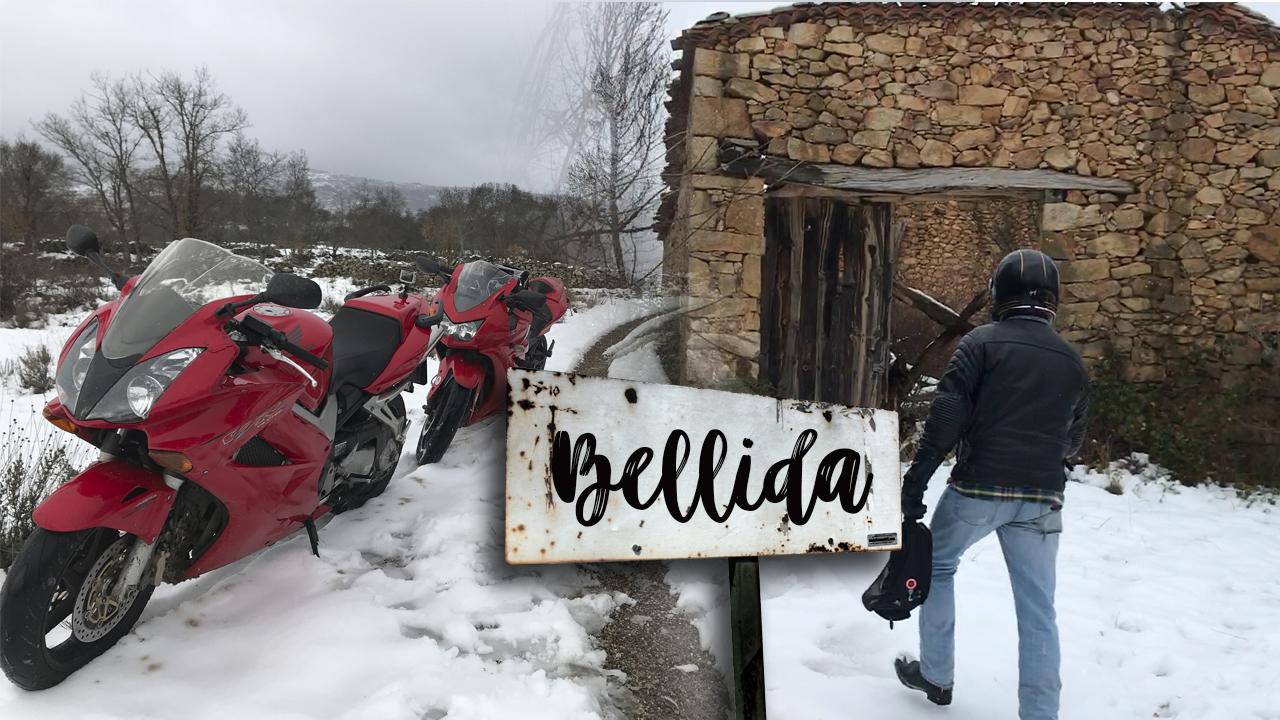 La Bellida, pueblo abandonado durante la guerra civil